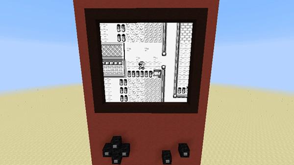 Pokémon rouge dans Minecraft