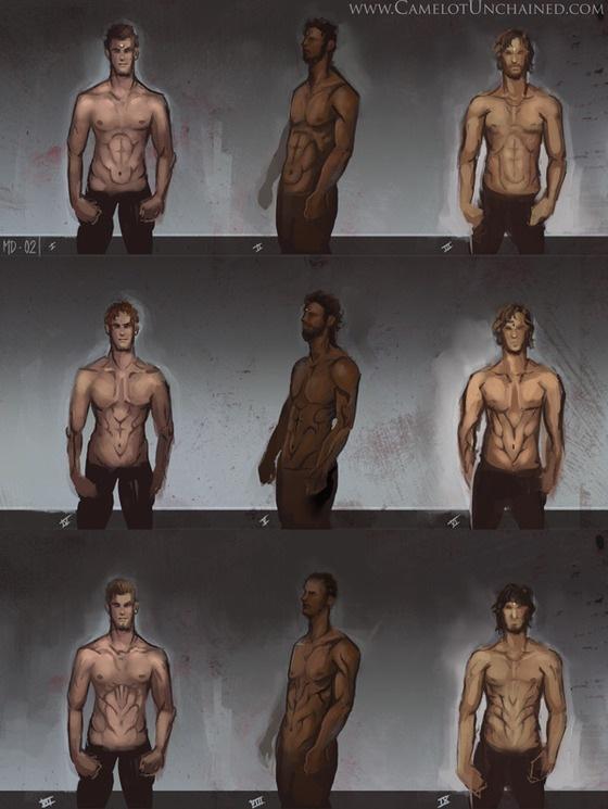Stormriders mâles
