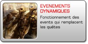 Evènements dynamiques