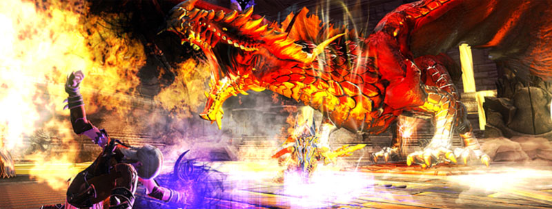 Neverwinter Dragons Rouges