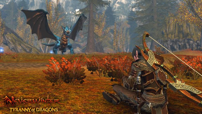 Neverwinter Dragons Bleus