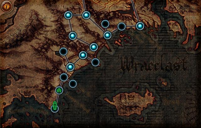 Path of Exile carte