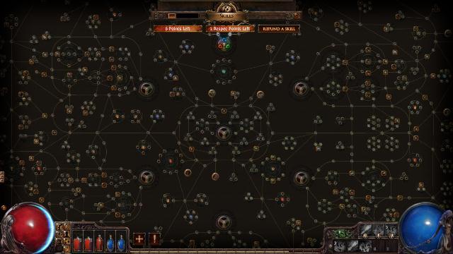 Path of Exile arbre de compétences
