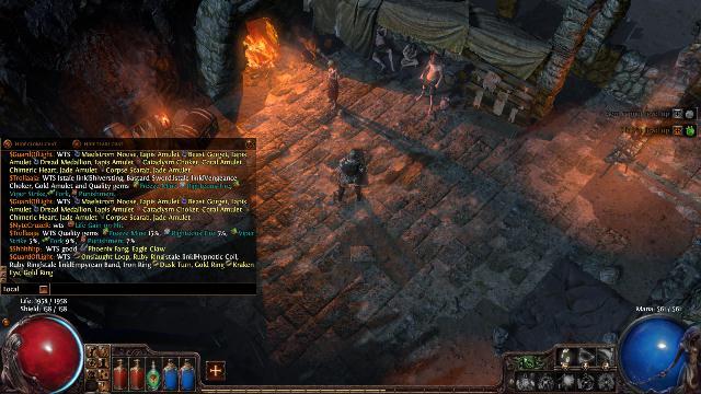 Poe trade options