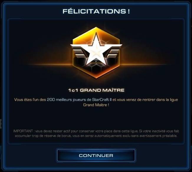 StarCraft matchmaking non classés