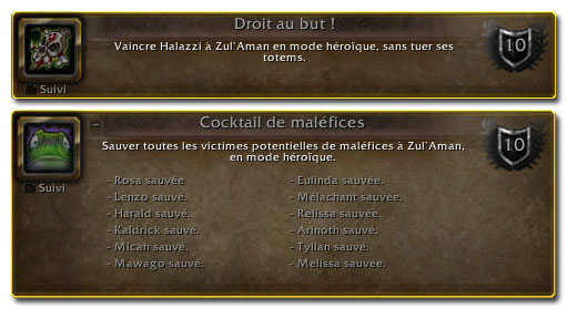 Hauts faits de Zul Aman 4.1