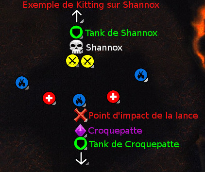 Exemple de kitting sur Shannox