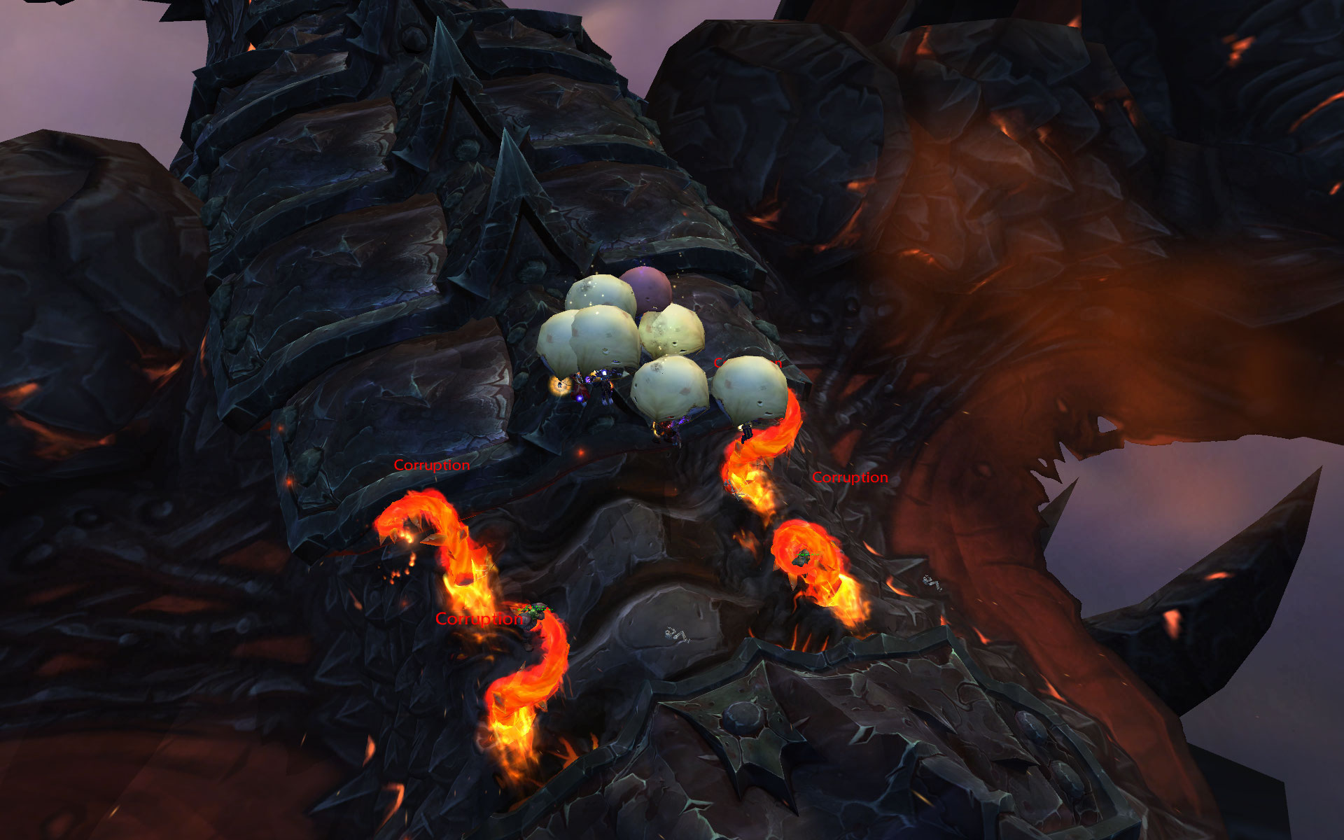 Dragon Soul Raid Location: Échine De Deathwing, La Strat