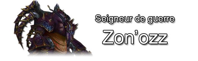 Zon'ozz, boss du raid de l'Âme des dragons