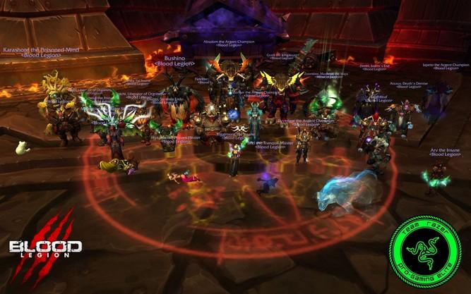 Down des Klaxxis par Blood Legion