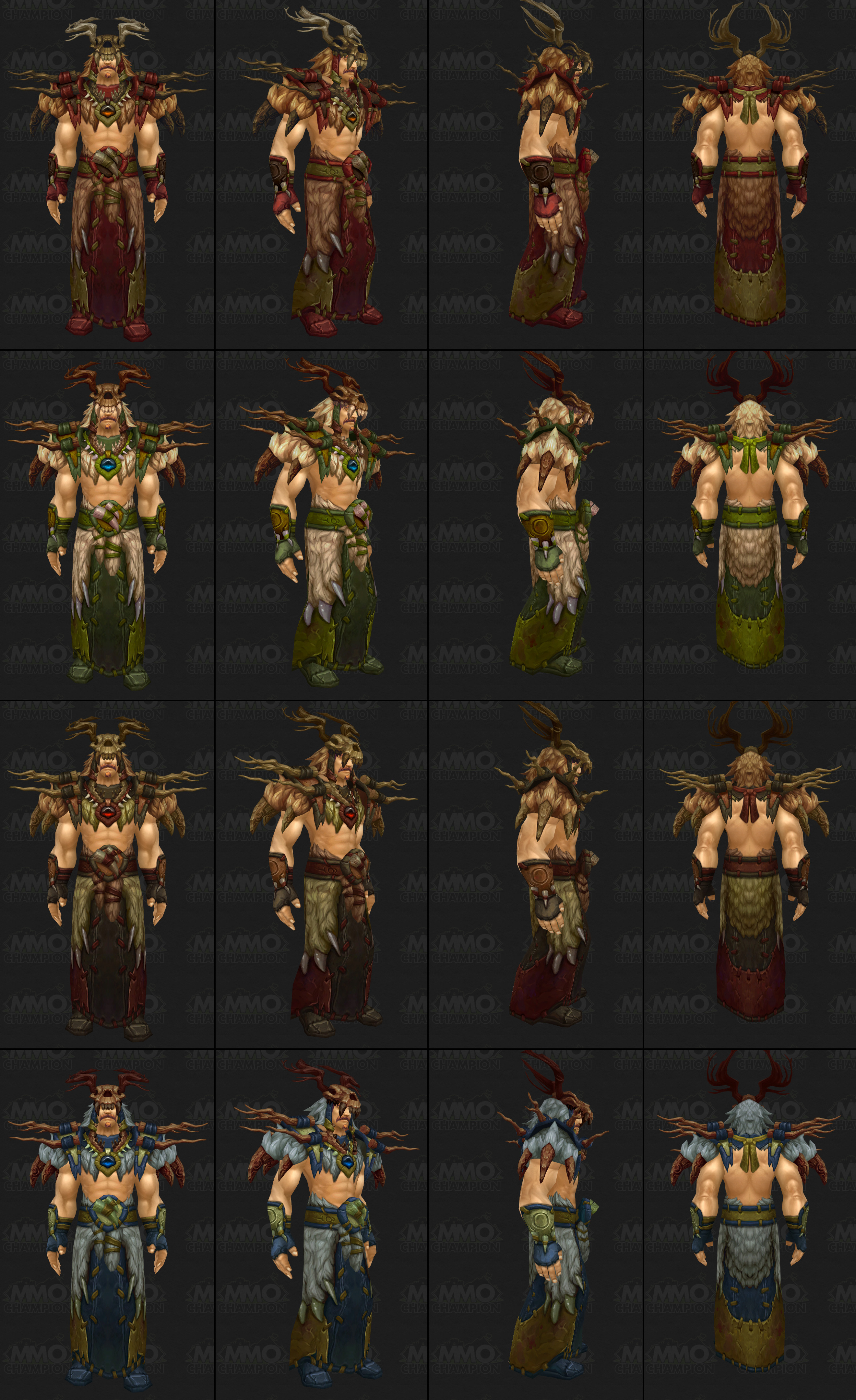 wow how to change druid appearance