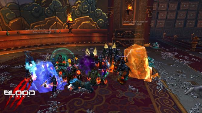 Les Esprits-rois tués par Blood Legion - Mists of Pandaria