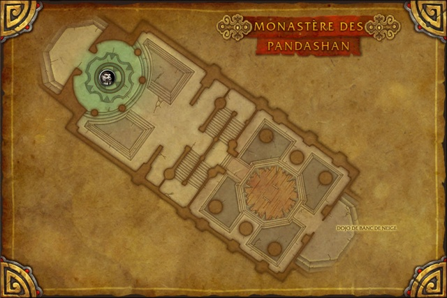 Carte du Monastère des Pandashan