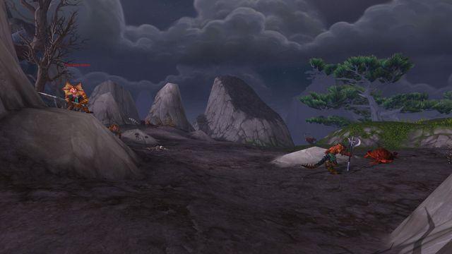 Mists of Pandaria : Escalier voilé