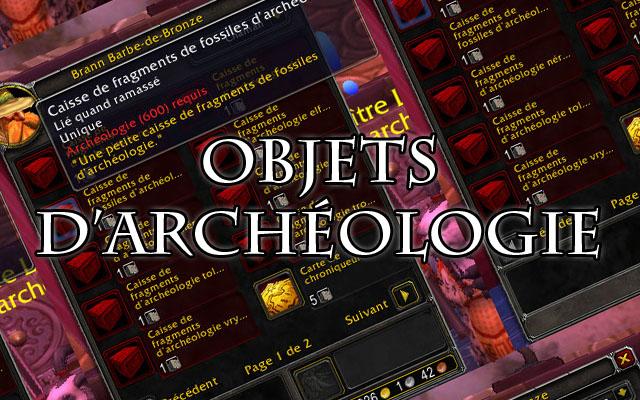 Objets d'archéologie vendus par Brann Barbe-de-Bronze