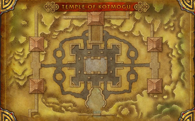 Carte : Temple de Kotmogu