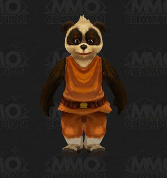 Mists of Pandaria : Modèle des enfants pandarens