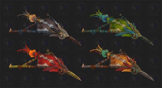 Montures cerf-volants