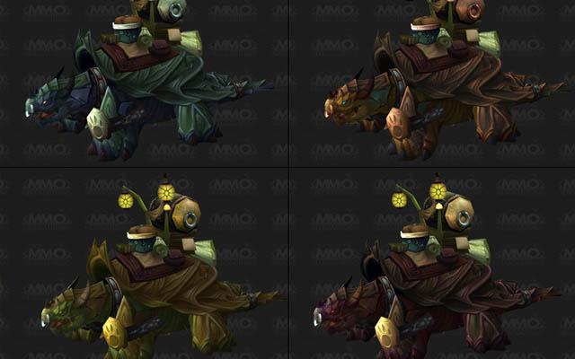 Montures tortues-dragon par MMO Champion