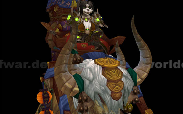 Mists of Pandaria : Monture Yak