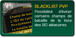 Mists of Pandaria : BG blacklisté