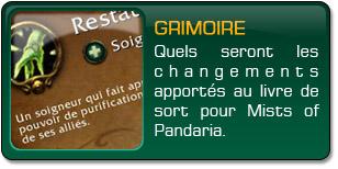 Mists of Pandaria : Grimoire