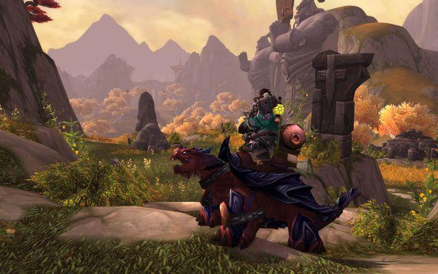La monture des pandarens dévoilée : la tortue-dragon !