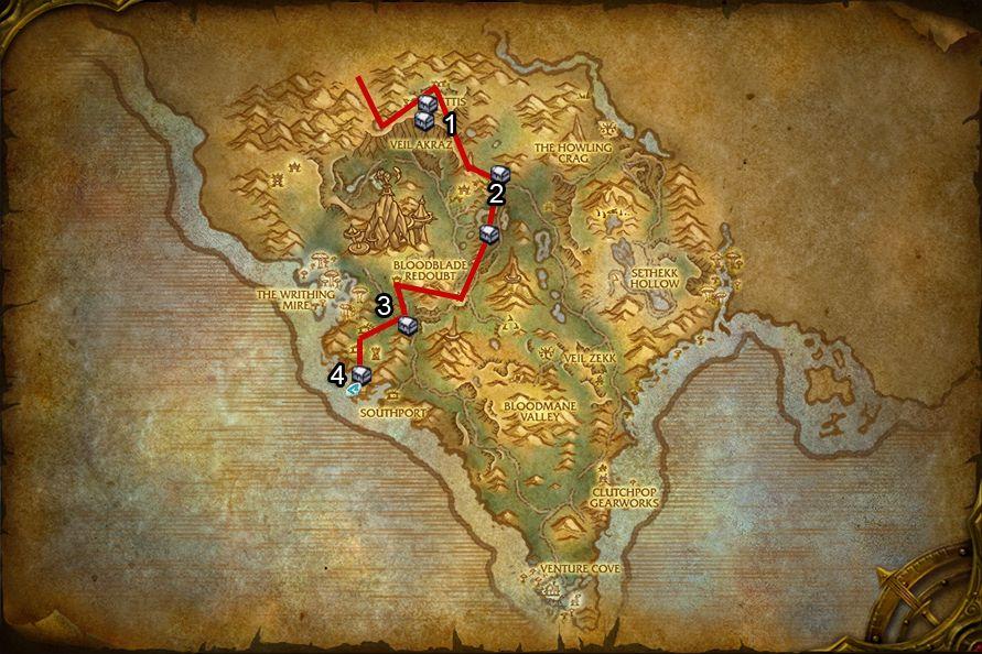 WoD : Carte de Flèche Arak