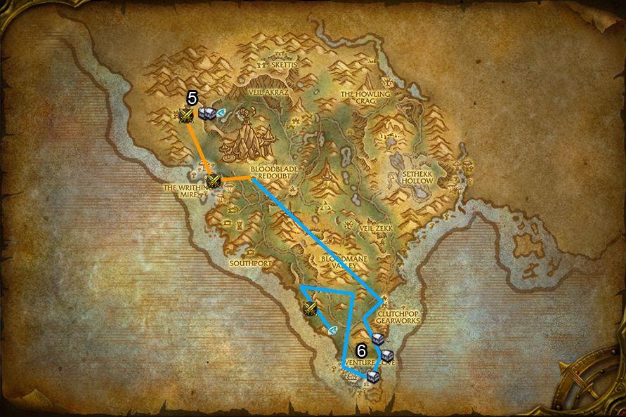 WoD : Carte de Flèche Arak 2