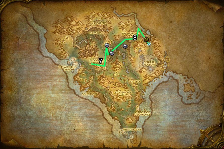 WoD : Carte de Flèche Arak 3