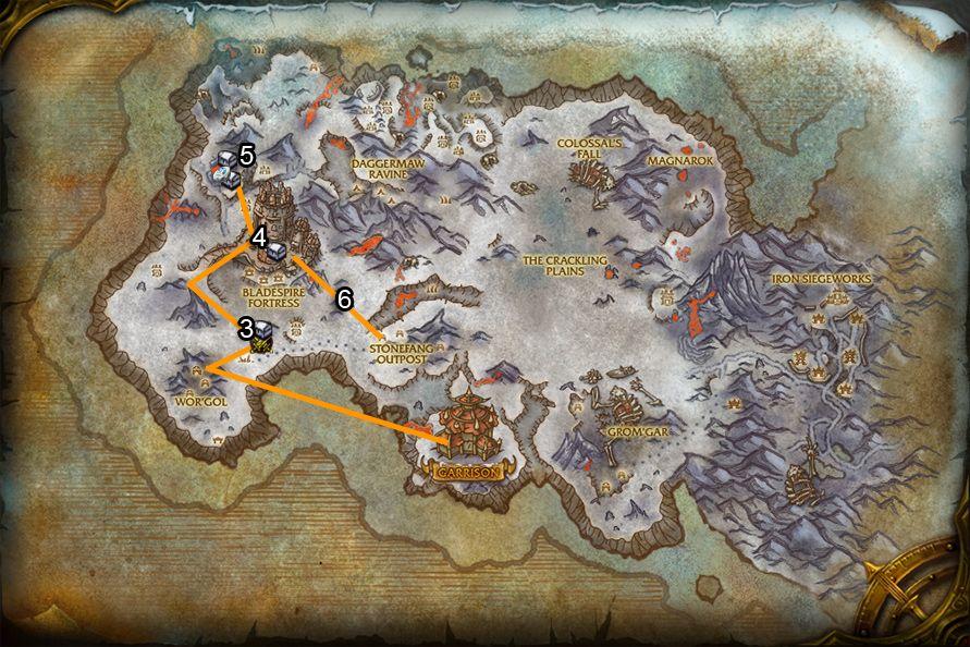 WoD : Carte de Givrefeu 2