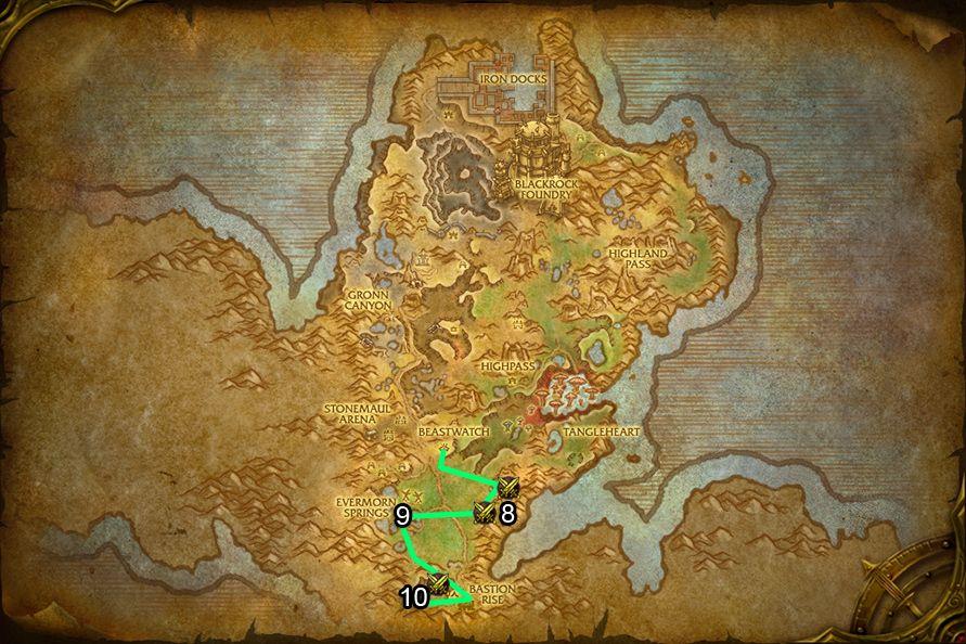 WoD : Carte de Gorgrond 3