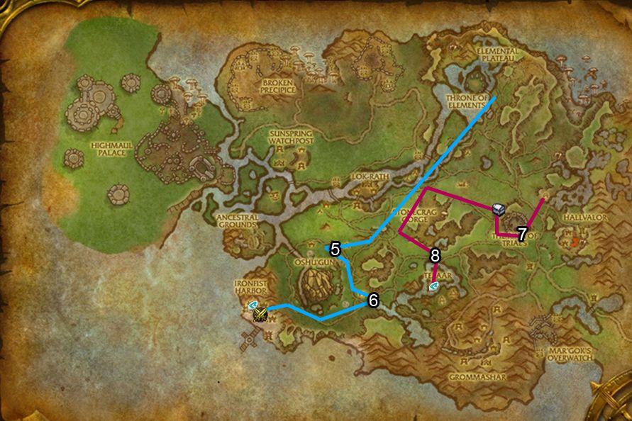 WoD : Carte de Nagrand 2