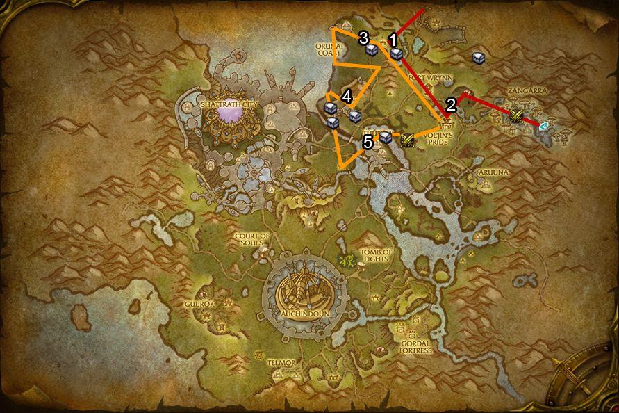WoD : Carte de Talador