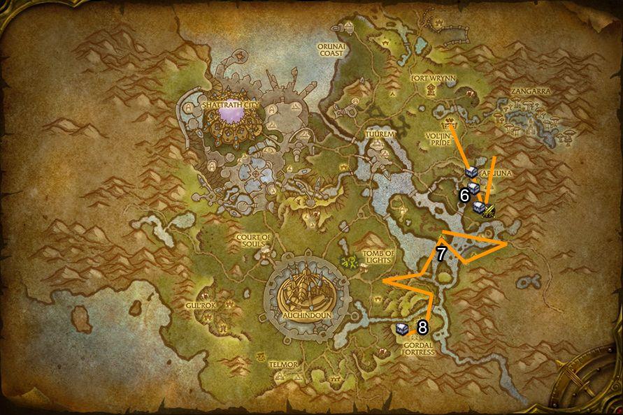 WoD : Carte de Talador 2