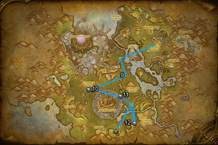 WoD : Carte de Talador 3