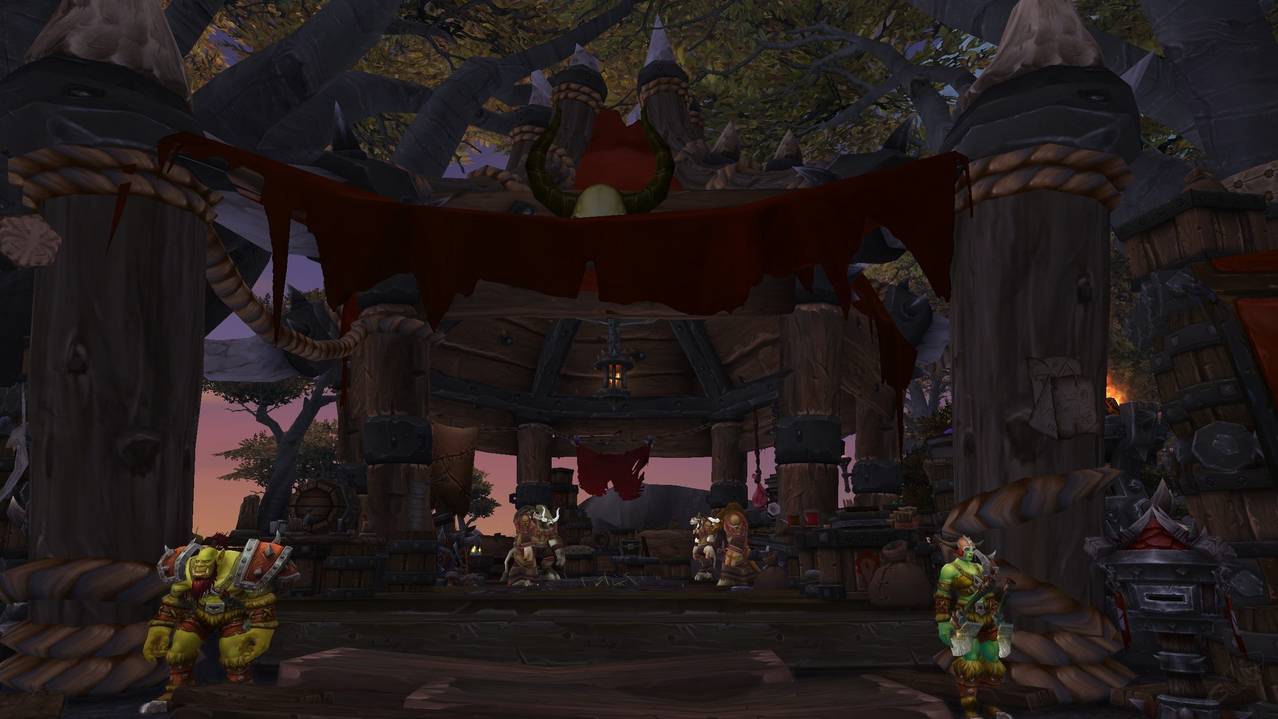 wow alliance how to get to ashran