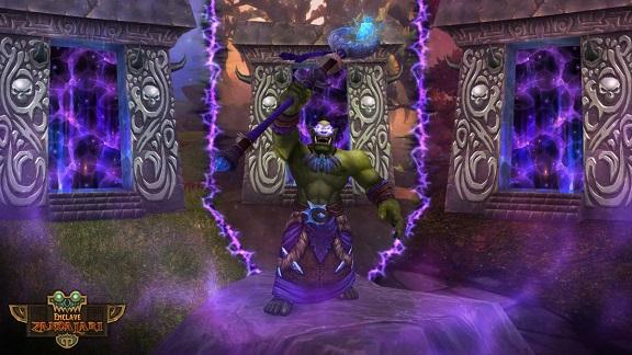 Fan art de Ner'zhul en train d'ouvrir les portails
