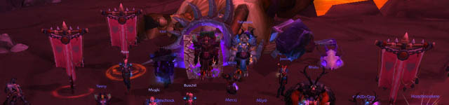 Cho'gall tombe en héroïque 25 face à For the Horde