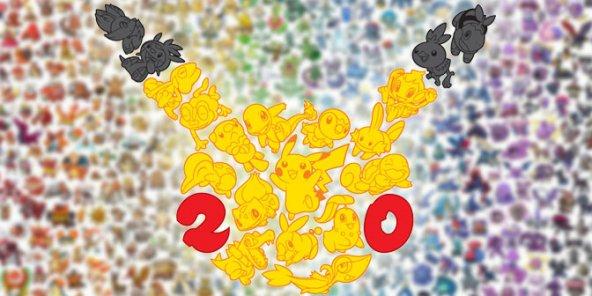 On revient sur 20 ans de Pokémon !