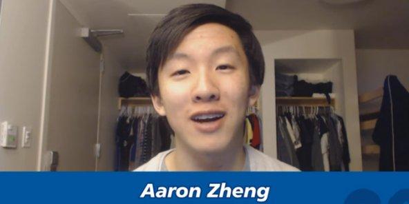 Aaron Zheng interviewé pour les 20 ans