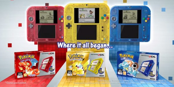 Les remakes Pokémon sont disponibles