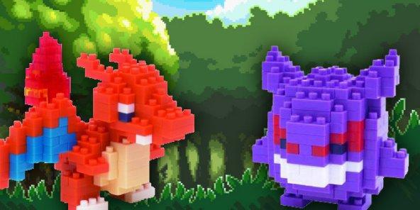 Des nanoblocks Pokémon pour les 20 ans