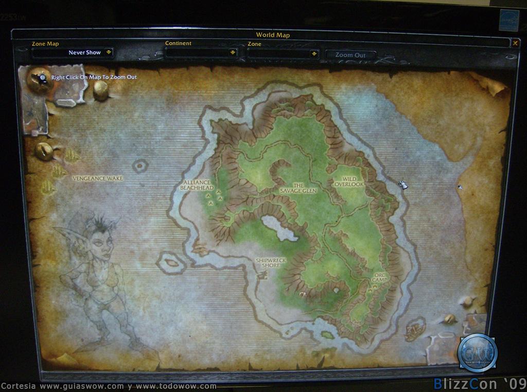 Carte les îles perdues