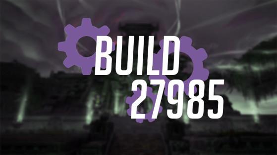 WoW BFA : Patch 8.1 : Build 27985