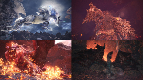 Monster Hunter World : Monstres alpha suprêmes et sets d'armure
