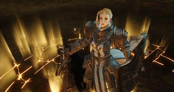 Diablo Immortal : Croisé, crusader, classe, build, skills, équipement