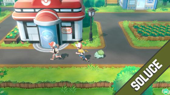 Soluce Pokémon Let's GO Pikachu Évoli - de Bourg-Palette à Jadielle