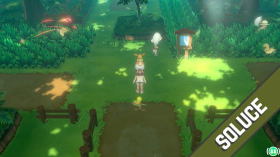Soluce Pokémon Let's GO Pikachu Évoli - de la forêt de Jade à Argenta