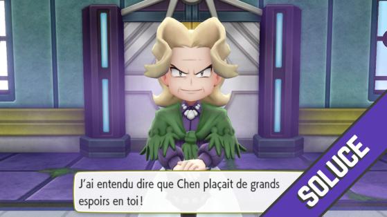 Soluce Pokémon Let's GO Pikachu Évoli - Battre le Conseil des 4 à la Ligue